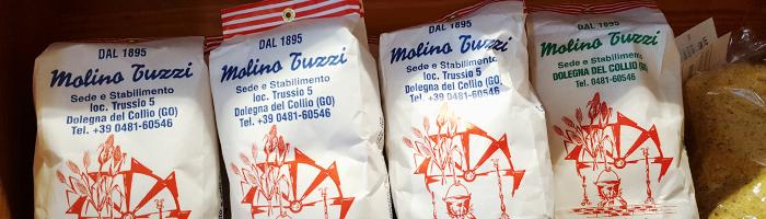Confezioni di farina Molino Tuzzi